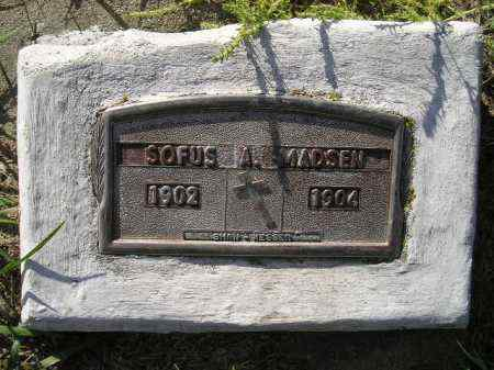 MADSEN, SOFUS A. - Codington County, South Dakota | SOFUS A. MADSEN - South Dakota Gravestone Photos