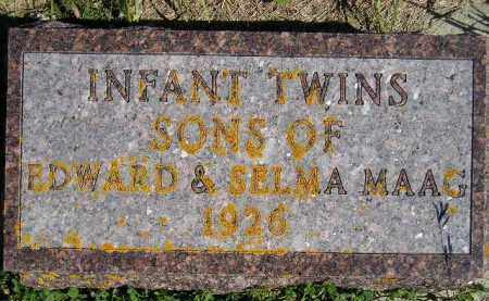 MAGG, TWIN SONS 1926 - Codington County, South Dakota   TWIN SONS 1926 MAGG - South Dakota Gravestone Photos