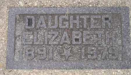 MANDERY, ELIZABETH - Codington County, South Dakota   ELIZABETH MANDERY - South Dakota Gravestone Photos