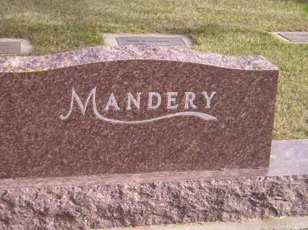 MANDERY, FAMILY PLOT - Codington County, South Dakota | FAMILY PLOT MANDERY - South Dakota Gravestone Photos