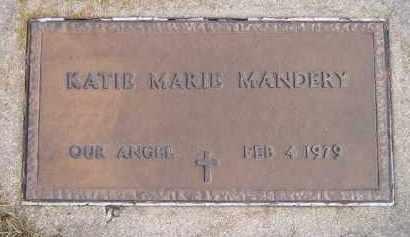 MANDERY, KATIE MARIE - Codington County, South Dakota | KATIE MARIE MANDERY - South Dakota Gravestone Photos