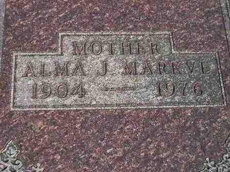 OSNESS MARKVE, ALMA JOSEPHINE - Codington County, South Dakota | ALMA JOSEPHINE OSNESS MARKVE - South Dakota Gravestone Photos