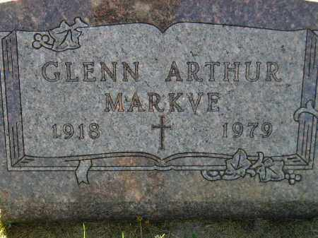 MARKVE, GLENN ARTHUR - Codington County, South Dakota | GLENN ARTHUR MARKVE - South Dakota Gravestone Photos