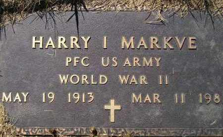 MARKVE, HARRY I. (WW II) - Codington County, South Dakota | HARRY I. (WW II) MARKVE - South Dakota Gravestone Photos
