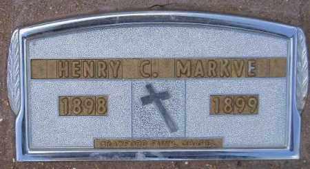 MARKVE, HENRY CLARENCE - Codington County, South Dakota | HENRY CLARENCE MARKVE - South Dakota Gravestone Photos