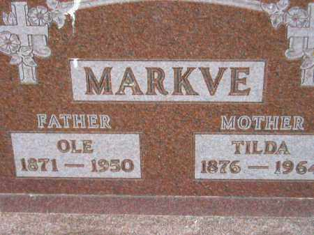 LOHNER/HANSON MARKVE, TILDA - Codington County, South Dakota | TILDA LOHNER/HANSON MARKVE - South Dakota Gravestone Photos