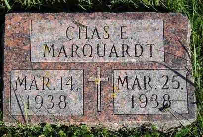 MARQUARDT, CHARLES EDWARD - Codington County, South Dakota | CHARLES EDWARD MARQUARDT - South Dakota Gravestone Photos