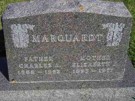 MARQUARDT, CHARLES ALBERT - Codington County, South Dakota | CHARLES ALBERT MARQUARDT - South Dakota Gravestone Photos