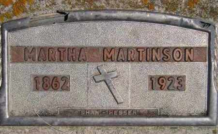 MICKELSON MARTINSON, MARTHA M. - Codington County, South Dakota | MARTHA M. MICKELSON MARTINSON - South Dakota Gravestone Photos