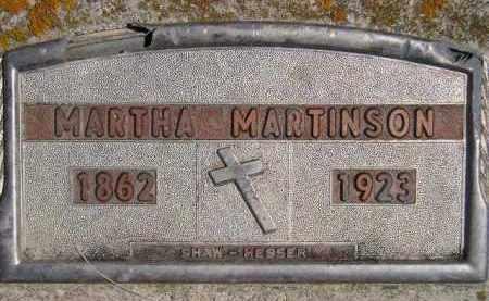MICKELSON MARTINSON, MARTHA M. - Codington County, South Dakota | MARTHA M. MICKELSON MARTINSON - South Dakota Gravestone Photos