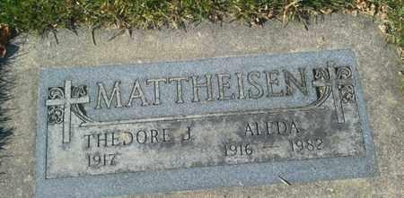 MATTHEISEN, ALDEDA - Codington County, South Dakota | ALDEDA MATTHEISEN - South Dakota Gravestone Photos