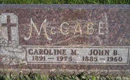 HAAS MCCABE, CAROLINE M. - Codington County, South Dakota | CAROLINE M. HAAS MCCABE - South Dakota Gravestone Photos