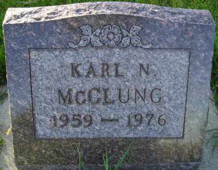 MCCLUNG, KARL N. - Codington County, South Dakota | KARL N. MCCLUNG - South Dakota Gravestone Photos