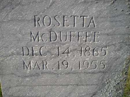 EVANS MCDUFFEE, ROSETTA - Codington County, South Dakota | ROSETTA EVANS MCDUFFEE - South Dakota Gravestone Photos