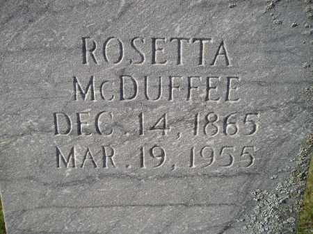 MCDUFFEE, ROSETTA - Codington County, South Dakota | ROSETTA MCDUFFEE - South Dakota Gravestone Photos