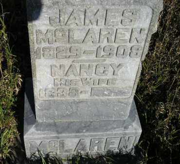 MCLAREN, NANCY - Codington County, South Dakota   NANCY MCLAREN - South Dakota Gravestone Photos