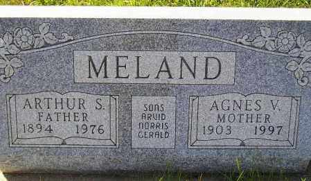 MELAND, AGNES VIOLA - Codington County, South Dakota | AGNES VIOLA MELAND - South Dakota Gravestone Photos