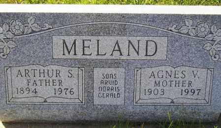 LARSON MELAND, AGNES VIOLA - Codington County, South Dakota | AGNES VIOLA LARSON MELAND - South Dakota Gravestone Photos