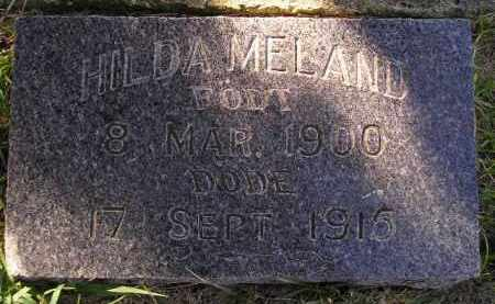 MELAND, HILDA - Codington County, South Dakota | HILDA MELAND - South Dakota Gravestone Photos