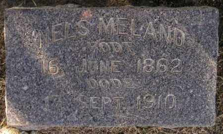 MELAND, NELS - Codington County, South Dakota | NELS MELAND - South Dakota Gravestone Photos