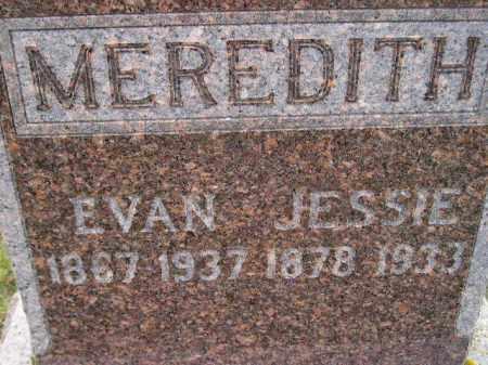 MEREDITH, JESSIE - Codington County, South Dakota | JESSIE MEREDITH - South Dakota Gravestone Photos