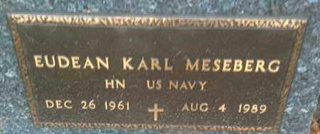 "MESEBERG, EUDEAN KARL ""MILITARY"" - Codington County, South Dakota 