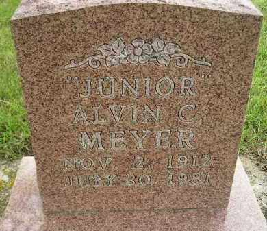 "MEYER, ALVIN C. ""JUNIOR"" - Codington County, South Dakota 