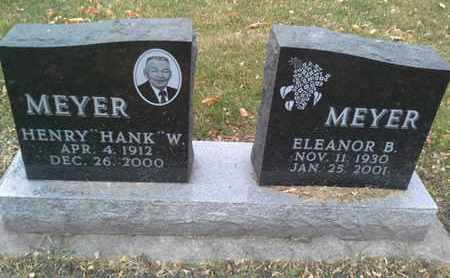 MEYER, ELEANOR B - Codington County, South Dakota | ELEANOR B MEYER - South Dakota Gravestone Photos