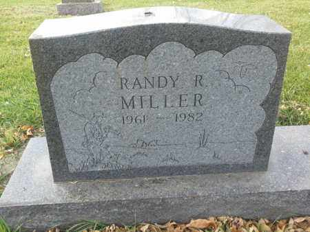 MILLER, RANDY R - Codington County, South Dakota | RANDY R MILLER - South Dakota Gravestone Photos