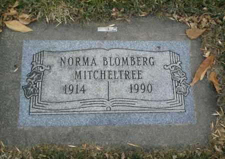 BLOMBERG MITCHELTREE, NORMA - Codington County, South Dakota | NORMA BLOMBERG MITCHELTREE - South Dakota Gravestone Photos