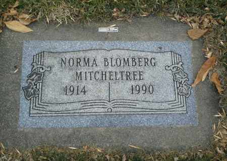 BLOMBERG MITCHELTREE, NORMA - Codington County, South Dakota | NORMA BLOMBERG MITCHELTREE - South Dakota Gravestone Photos