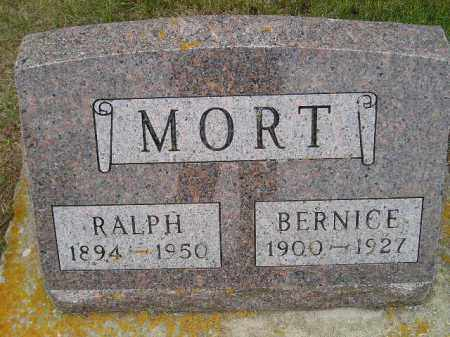 MORT, BERNICE - Codington County, South Dakota | BERNICE MORT - South Dakota Gravestone Photos