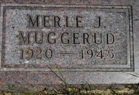 MUGGERUD, MERLE JEROME - Codington County, South Dakota | MERLE JEROME MUGGERUD - South Dakota Gravestone Photos