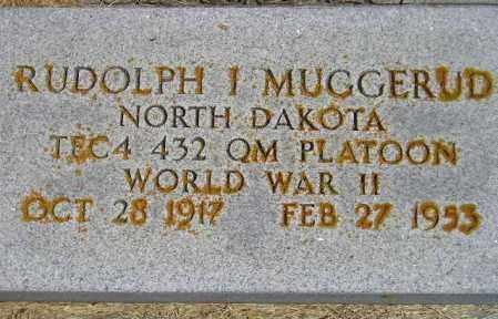 MUGGERUD, RUDOLPH I. - Codington County, South Dakota | RUDOLPH I. MUGGERUD - South Dakota Gravestone Photos