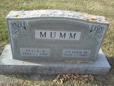 MUMM, PETER A - Codington County, South Dakota | PETER A MUMM - South Dakota Gravestone Photos
