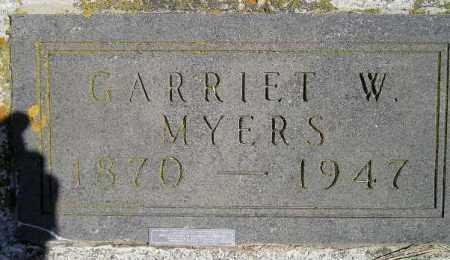 MYERS, GARRIET W. - Codington County, South Dakota | GARRIET W. MYERS - South Dakota Gravestone Photos