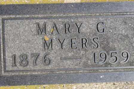 LAUSENG MYERS, MARY GERTRUDE - Codington County, South Dakota | MARY GERTRUDE LAUSENG MYERS - South Dakota Gravestone Photos