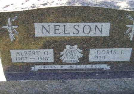 NELSON, DORIS L. - Codington County, South Dakota   DORIS L. NELSON - South Dakota Gravestone Photos