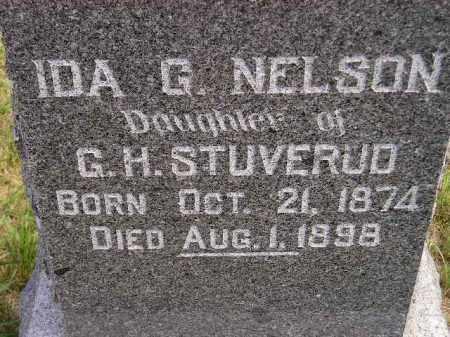 STUVERUD NELSON, IDA GUSTINA` - Codington County, South Dakota | IDA GUSTINA` STUVERUD NELSON - South Dakota Gravestone Photos