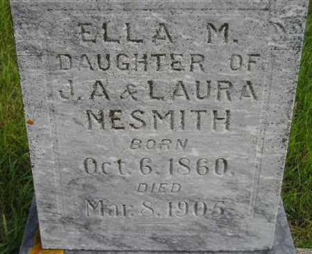 NESMITH, ELLA M. - Codington County, South Dakota | ELLA M. NESMITH - South Dakota Gravestone Photos