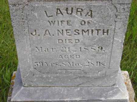 POST NESMITH, LAURA - Codington County, South Dakota   LAURA POST NESMITH - South Dakota Gravestone Photos