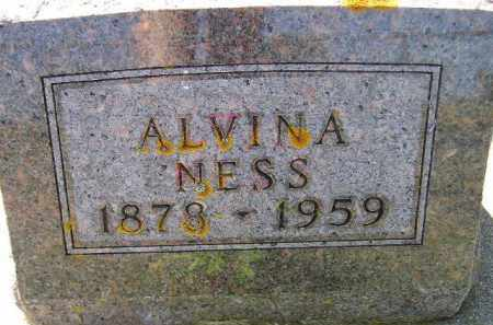 NESS, CLARA ALVINA - Codington County, South Dakota | CLARA ALVINA NESS - South Dakota Gravestone Photos