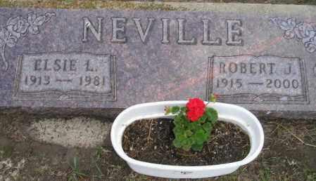 NEVILLE, ROBERT JAMES - Codington County, South Dakota | ROBERT JAMES NEVILLE - South Dakota Gravestone Photos