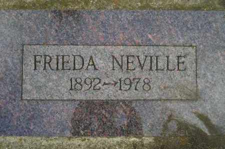 NEVILLE, FRIEDA EMILIA - Codington County, South Dakota | FRIEDA EMILIA NEVILLE - South Dakota Gravestone Photos