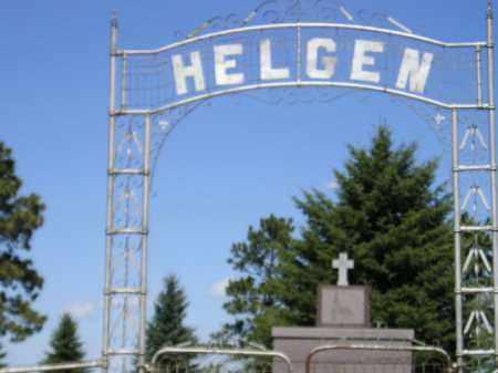 *HELGEN-NEW HELGEN, ENTRANCE/GPS - Codington County, South Dakota | ENTRANCE/GPS *HELGEN-NEW HELGEN - South Dakota Gravestone Photos
