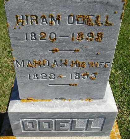 ODELL, HIRAM - Codington County, South Dakota | HIRAM ODELL - South Dakota Gravestone Photos