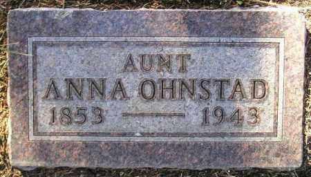 OHNSTAD, ANNA - Codington County, South Dakota | ANNA OHNSTAD - South Dakota Gravestone Photos
