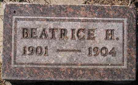 OHNSTAD, BEATRICE H. - Codington County, South Dakota | BEATRICE H. OHNSTAD - South Dakota Gravestone Photos