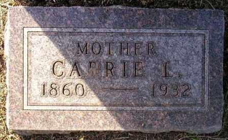 LEE OHNSTAD, CARRIE L. - Codington County, South Dakota | CARRIE L. LEE OHNSTAD - South Dakota Gravestone Photos