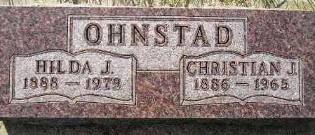OHNSTAD, HILDA JORGINE - Codington County, South Dakota | HILDA JORGINE OHNSTAD - South Dakota Gravestone Photos